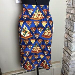 Lularoe Cassie Pizza Skirt Medium New with Tags